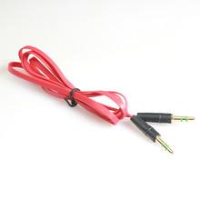 3 5mm Audio Kabel Stecker-stecker Hilfs Kabel Audio Kabel Stecker-stecker Flachen Aux Kabel 1m Audio linie Kabel Audio Kabel Aux cheap HIPERDEAL Speakon CN (Herkunft) Mehrzwecktasche Nicht-Abgeschirmt Kein Lautsprecher Für iPod Computer Mikrofon Multimedia