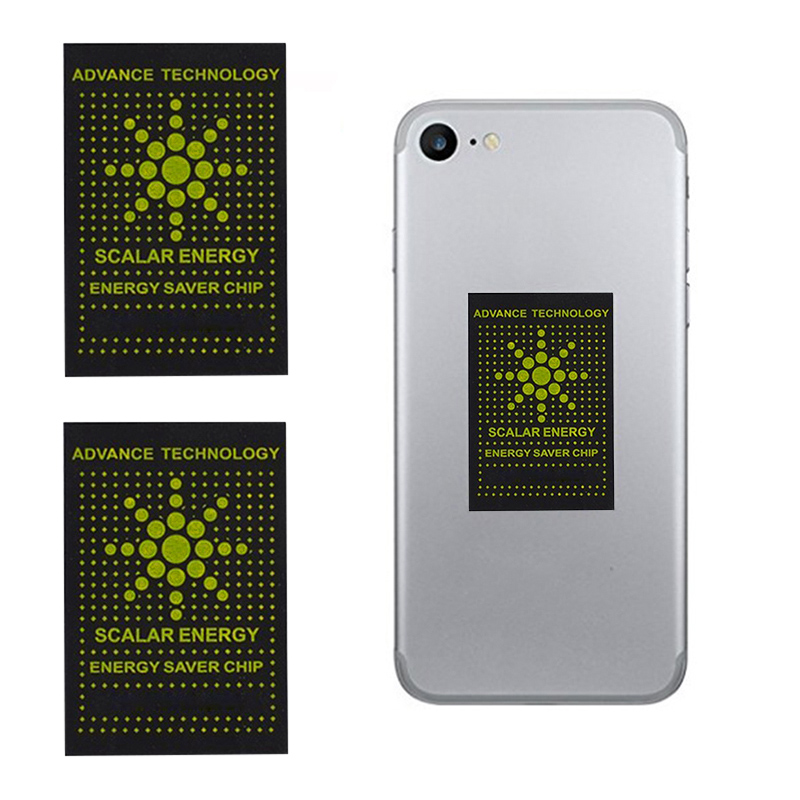protecao da etiqueta da anti radiacao do telefone celular do protetor da radiacao de 10 pces