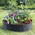 Мешок для растений и картофеля, дышащие горшки для цветов, контейнер для корней, практичные кастрюли с ручками для сада