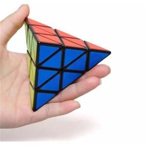 Image 3 - Lesiostress Originele 3X3X3 Piramide Magische Kubus Piramide Cubo Magico Professionele Puzzel Onderwijs Speelgoed Voor Kinderen