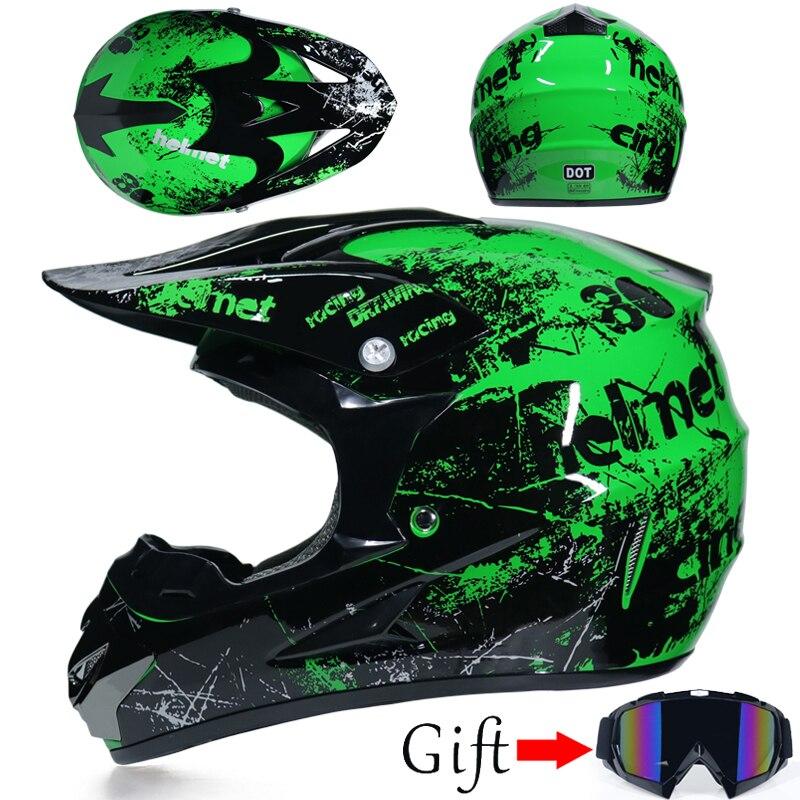 high quality Motocross Helmet ATV Motocicleta Casque Para Moto Casco Off Road Dirt Bike Capacete Free