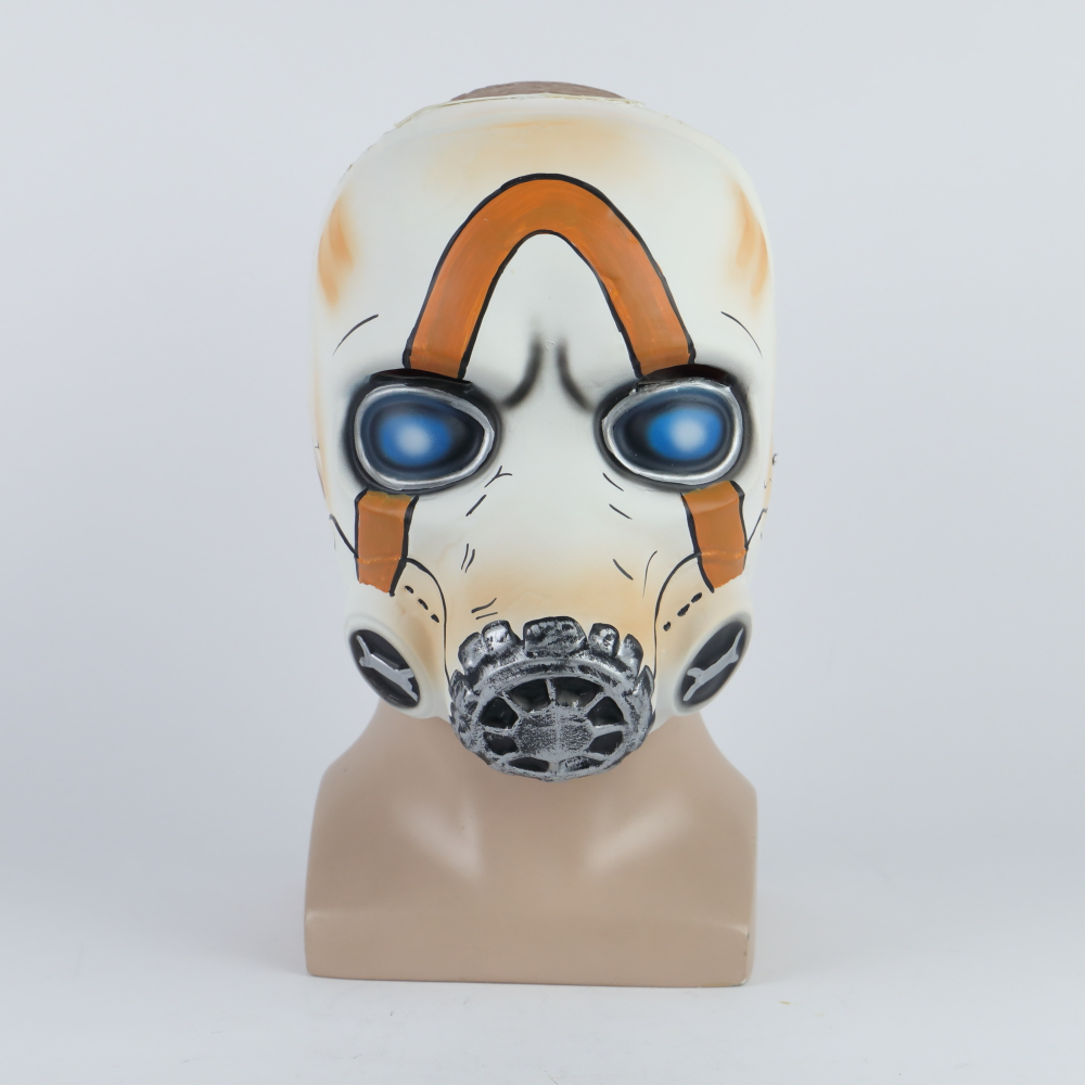 2019 New Game Psycho Mask Cosplay Psycho Latex Face Mask Halloween Cosplay Props LEDNo LED 2 Types Wholesale (2)