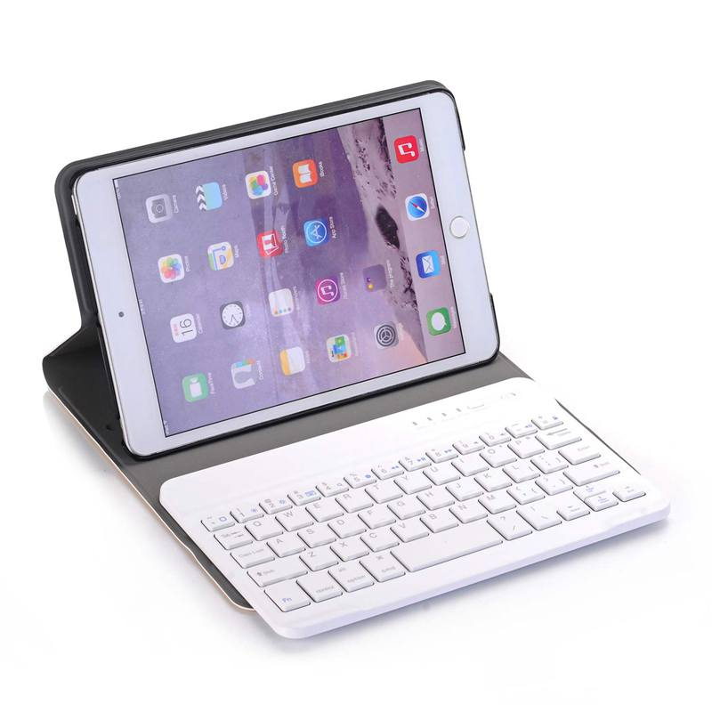 Keyboard Case 7 9 inch Wireless Bluetooth Keyboard Removable Cover Ultra Slim Lightweight Tablet Case Mini Ipad 1 2 3 Smart Au in Keyboards from Computer Office