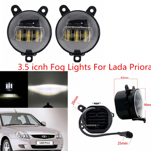 Image 5 - 2PCS 4 אינץ עגול Led ערפל אורות 30W 6000K לבן Halo טבעת DRL Off Road ערפל מנורות עבור ג יפ רנגלר JK TJ LJ גרנד צ ירוקי לאדה
