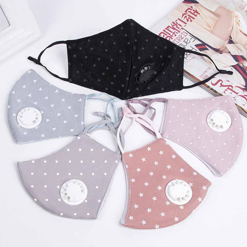 1Pcs Fashion Unisex Cotton Breath Mouth Mask Anti-Dust Mask Cloth Activated Mouth-muffle