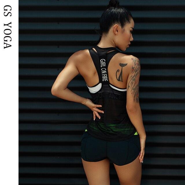 Sleeveless Yoga Tank Top 1