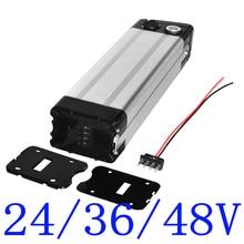 24V 36V 48V Electric Bicycle Battery Case for DIY 24V 36V 48V lithium battery pack  Box With holder Bottom discharge