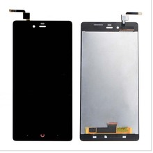 """5.5 """"למעלה איכות מלא LCD תצוגת מסך מגע Digitizer עצרת עבור ZTE נוביה Z9 מקס NX510J NX512J Z9MAX טלפון חלק מקורי"""