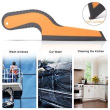 EHDIS 1/2pcs Window Tint Film Squeegee Scraper Wrapping Car Vinyl Applicator Tool Household Wash Snow Cleaner Water Quick Wiper
