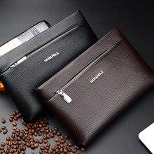 New Style Men Clutch Bag Large Capacity Clutch Men's Bag Business Casual Clutch Bag Briefcase цена и фото