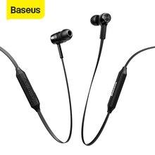 Baseus s06 esportes neckband sem fio bluetooth fones de ouvido sem fio magnético com microfone para todos os telefones
