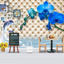 Wallpaper Modern Decoration Beibehang Customized Minimalist Fashion Rose 3D Package Soft