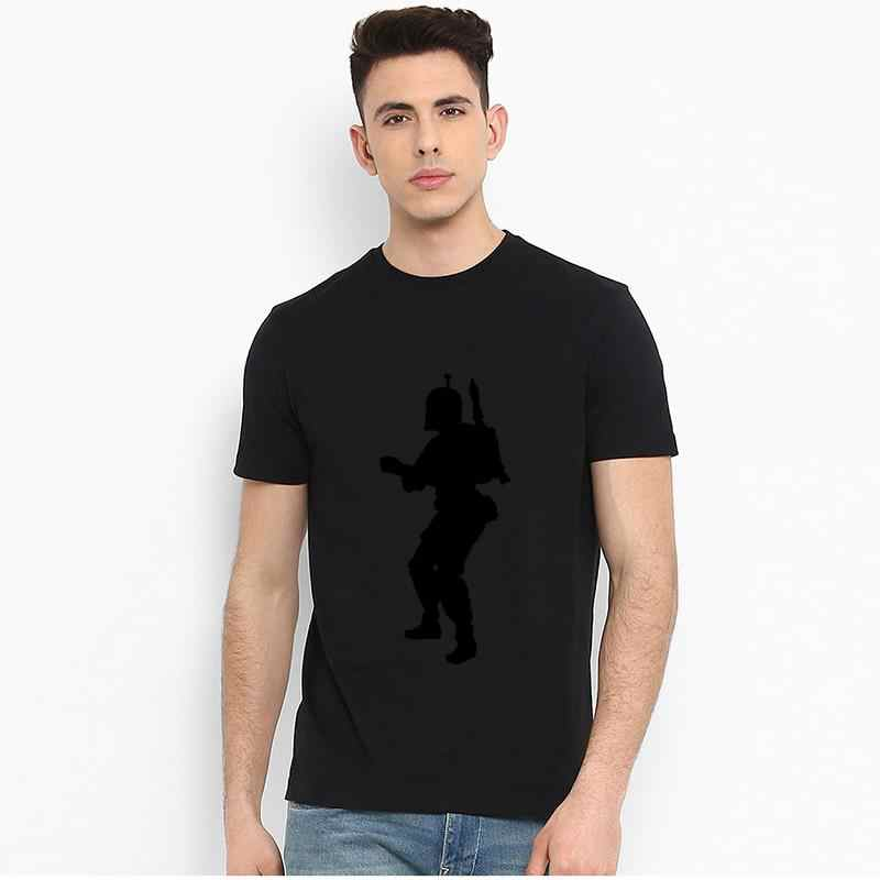 Vintage boba fett camiseta vetorial tamanho grande s 6060xl casual gola de marinheiro lazer camisetas femininas