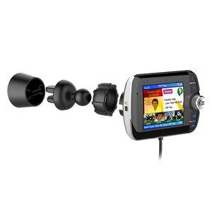 Image 2 - DAB004 DAB 디지털 라디오 수신기 LCD 컬러 스크린 디스플레이 블루투스 라디오 어댑터 지원 MP3 음악 USB 충전기 자동차에 대 한
