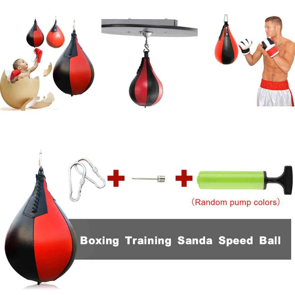 Hand Target Speed Ball Boxing Pear Shape Punching Bag Martial Arts Practice Ball