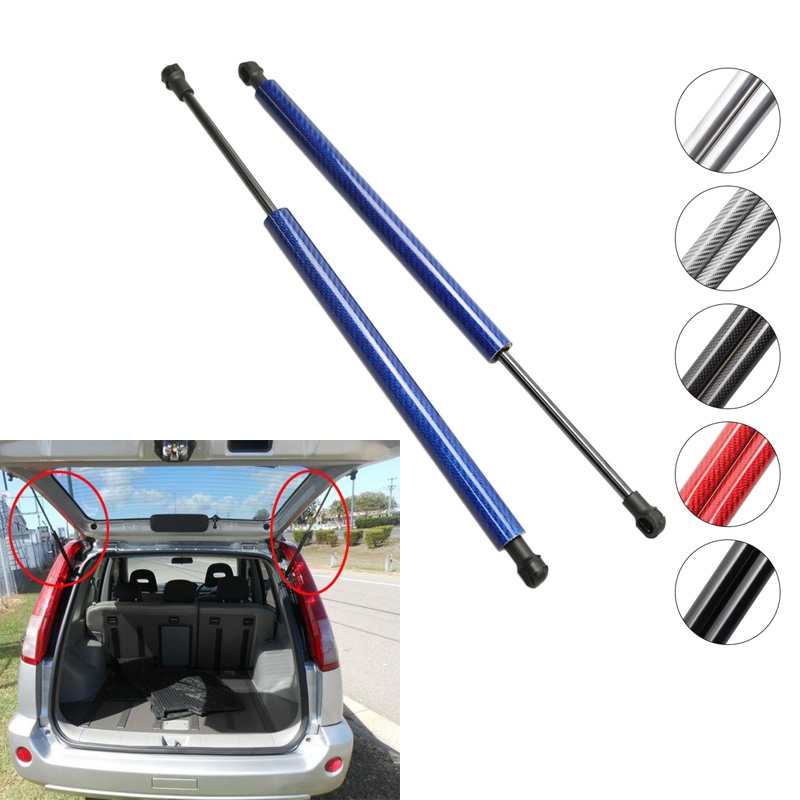 2pcs Auto Tailgate Boot Lift Support Gas Struts Spring untuk Nissan X-Trail T30 2000 2001 2002 2003 2004 2005 2006 530 mm