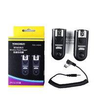 Yongnuo RF-603II N1  RF603 ii RF 603 flaş tetik 2 vericiler için Nikon D3/D3X/D200/D300/D700/ d300S/D800/D800E