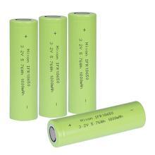 4 pièces 1800mAh IFR18650 LiFePO4 3.2V batterie rechargeable avec UN et certification UL