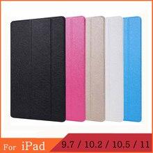 Funda iPad Pro 2th 3th 4th 5th 6th 7th Geração 2017 2018 9.7 10.2 10.5 11 1 2 smart cover caixa Magnética para Apple iPad Air