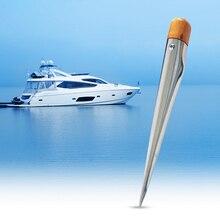 170 мм Лодка сплайсинга Спайк морской деревянной ручкой 304 Нержавеющая веревка Сращивание стали Спайк для яхты катер лодка аксессуары морской