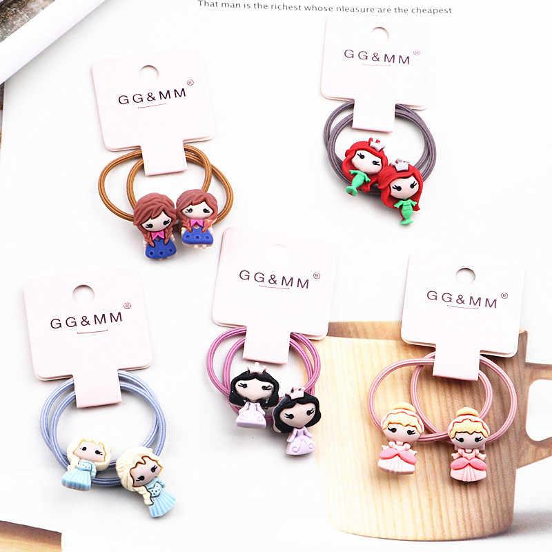 Cute Colourful Fruit Princess Headwear Kids Elastic Hair Bands Children Ropes/_