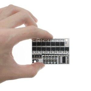 Image 3 - 18V 21V 100A 5S BMS ليثيوم أيون كحم LiFePO4 بطارية الليثيوم الثلاثي حماية لوحة دوائر كهربائية ليثيوم بوليمر شحن الرصيد لوحة تركيبية