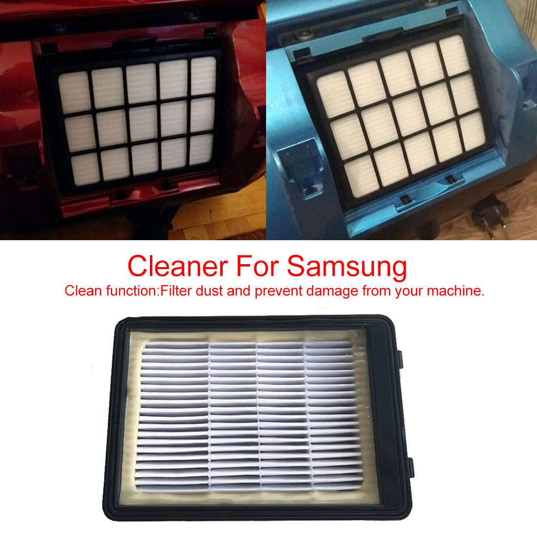 2019 NEW Dust Filter For Vacuum Cleaner Spare Parts Cleaner Accessories Vacuum Cleaner Dust DJ97 00492A SC65 SC68