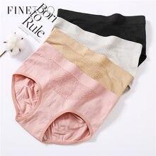 ملابس داخلية نسائية من FINETOO سروال داخلي من القطن يسمح بالتهوية سروال داخلي نسائي ناعم بخصر منخفض ملابس داخلية نسائية مرنة للغاية 2020