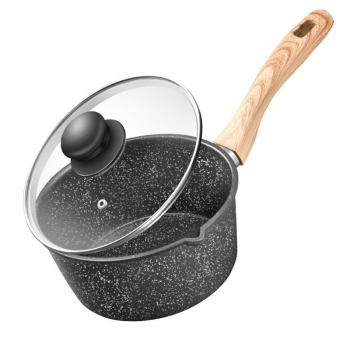 Milk Pot Non-stick Pot Home Baby Children's Food Supplement Pot Maifan Stone Pot Pot Milk Pot Soup Pot Cooker Frying Pan Wok Pan