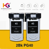 2x Refillable for CANON PG40 CL41 inks PG 40 CL 41 100% QUALITY GUARANTEE for Pixma MP140 MP150 MP170 MP180 MP220 MP460 Printer