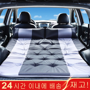 Car Inflatable Bed SUV Car Mattress Rear Row Car Travel Sleeping Pad Off-road Air Bed Camping Mat Air Mattress Auto Accessories