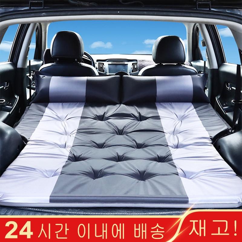 Надувная кровать для автомобиля SUV, матрас для автомобиля, задний ряд, автомобильный коврик для путешествий, внедорожная воздушная кровать, коврик для кемпинга, воздушный матрас, автомобильные аксессуары|Дорожная кровать в авто|   | АлиЭкспресс