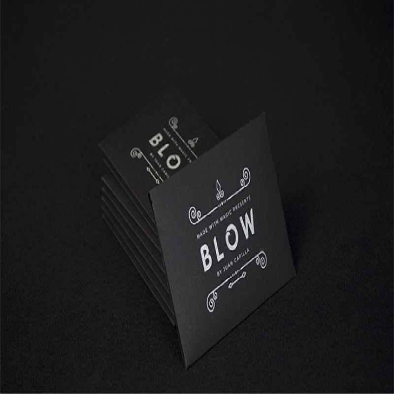 Made With Magic Presents BLOW By Juan Capilla (Gimmick And Online Instructions) Card Magic Tricks Illusions Close Up Magic Props