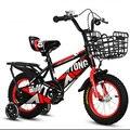 Детский велосипед Подвеска утолщаются шины флэш Вспомогательное колесо От 2 до 13 лет студенческий велосипед 12