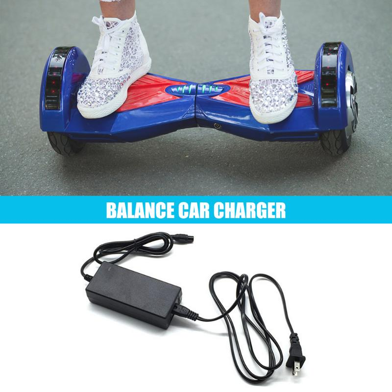 US Plug Power Adapter Lithium Battery Safe Charger For Electric Balance Scooter For Walking Balance Car Wheelbarrow