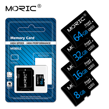 Moric Micro Sd Card Memory Card TF Card 256GB 128GB 64GB 32GB 16G 8G High Speed Class10 Mini Sd Card Gift Adapter