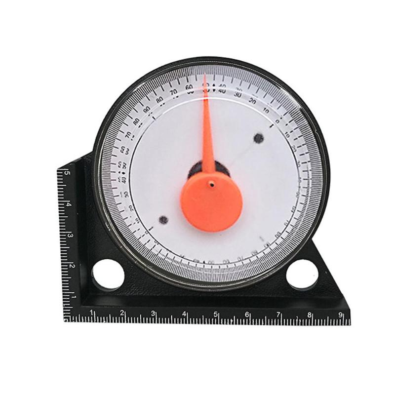 0-360 Degree Slope Inclinometer Angle Finder Measuring Slope Protractor With Magnetic Angle Ruler Tilt Level Meter Clinometer