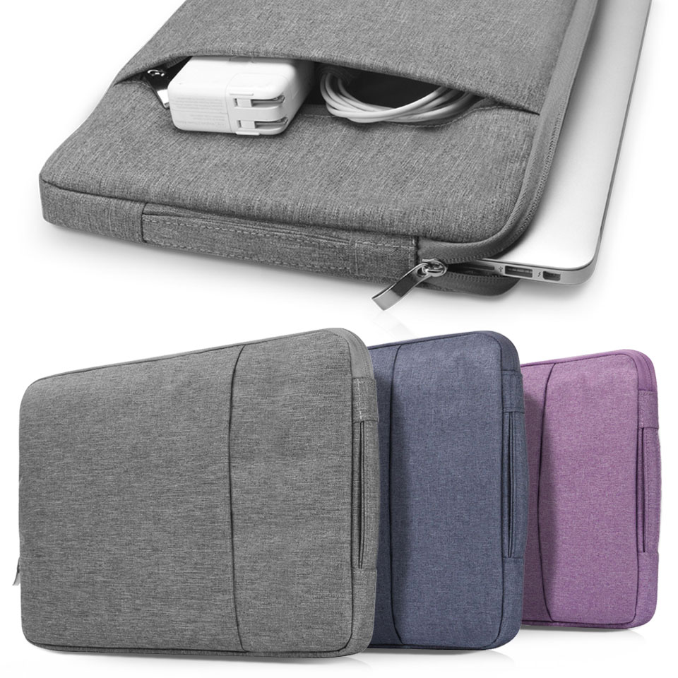 Laptop Bag for Macbook Air 13 11 12 15 Pro 13.3 15.4 Retina Case Sleeve13 <font><b>15.6</b></font> inch <font><b>Notebook</b></font> Handbag Bag <font><b>Pouch</b></font> for ASUS Dell image