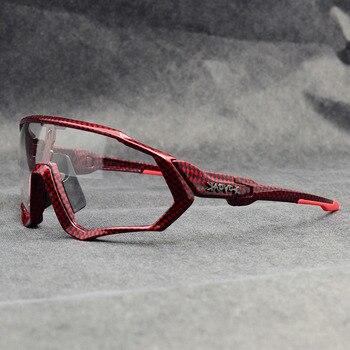 Photochromic ciclismo óculos de sol homem & mulher esporte ao ar livre óculos de bicicleta óculos de sol óculos de sol gafas ciclismo 1 lente 8