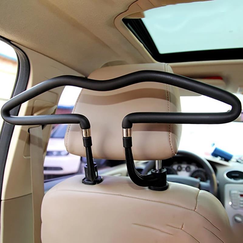 450*250 мм Универсальная мягкая Автомобильная вешалка для пальто, подголовник на спинку сиденья, вешалка для одежды, куртки, держатель для кост...