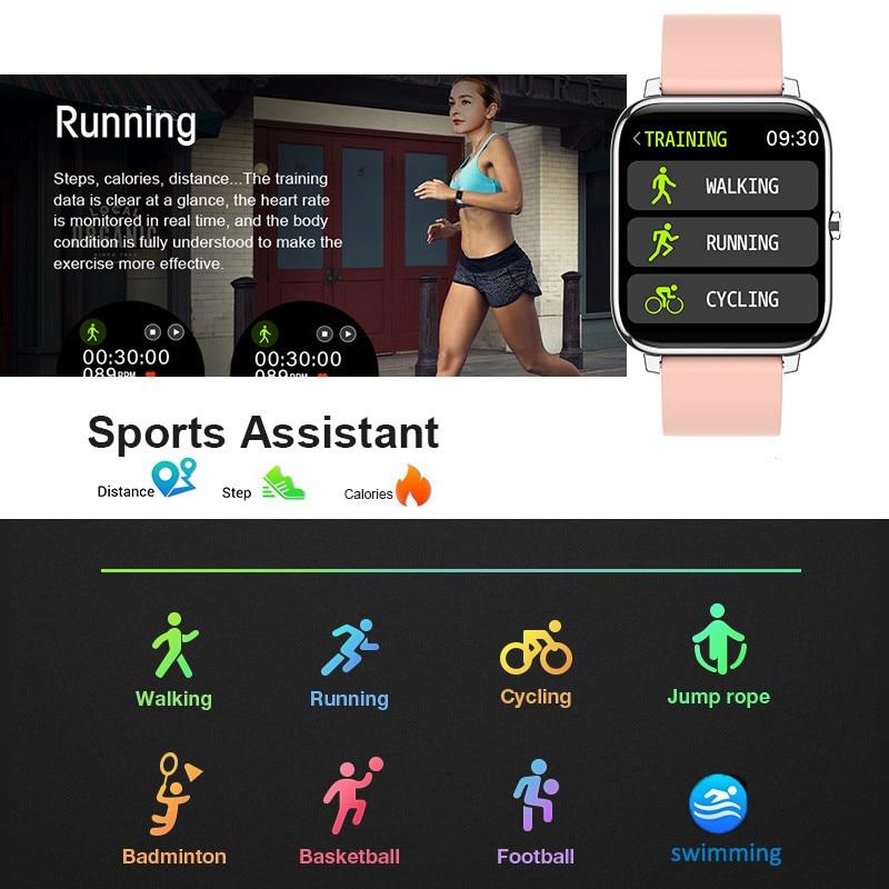 cheapest Full Touch Smart Watch Women Men Smartwatch Electronics Smart Clock For Android IOS Fitness Tracker Sport Bluetooth Smart-watch