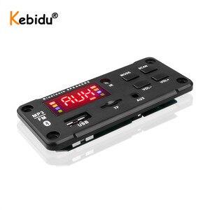 Image 3 - شاشة كبيرة سيارة الصوت USB TF راديو FM وحدة سماعة لاسلكية تعمل بالبلوتوث 5 فولت 12 فولت MP3 WMA فك مجلس مشغل MP3 مع جهاز التحكم عن بعد