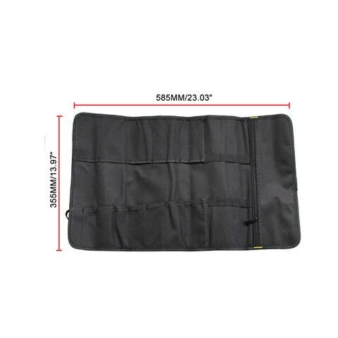 universal saco de ferramentas da motocicleta multifuncional oxford bolso toolkit rolou saco portatil grande capacidade