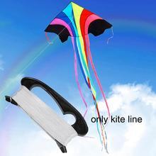 Kite  Line 100m Flying Outdoor Soft Kite Flying Toys For Children Girls Boys Gift Outdoor Tool цена и фото