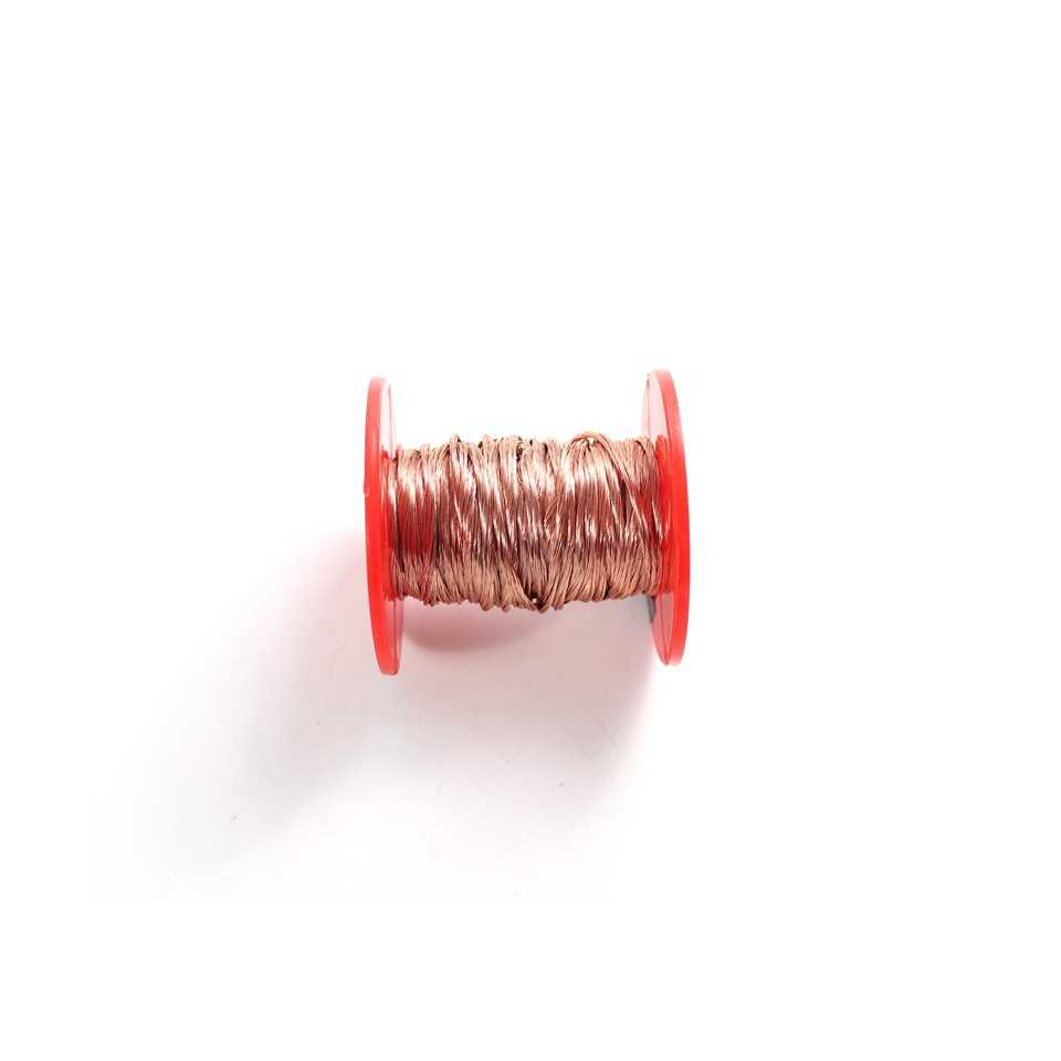 0.2mm 45 50 60 70 80 90 100 120 150 160 200 Brin Litz Brins De Fil De Cuivre Émaillé Polyuréthane multibrins Litz Fils 0.2