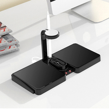 4 in 1 QI Wireless Charger Dock Station สำหรับ Apple Watch AirPods iPhone 8X8 PLUS XR 11 Pro XS สูงสุด 10W Fast Wireless CHARGING Pad