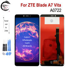 Pantalla LCD de 5,45 pulgadas para ZTE Blade A7 Vita A0722, montaje de Sensor de Digitalizador de Panel táctil, reemplazo de pantalla