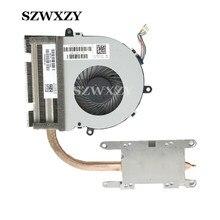 Szwxzy para hp 15-bs série dissipador de calor do portátil e ventilador at2040020k0 925012-001 924975-001 dc28000jl00