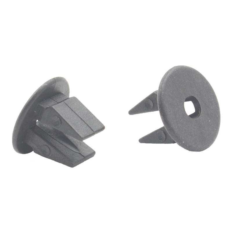Black Plastic fast wire nail Seat Nut Rivet Panel Moulding Auto Headlight Trim Fasteners Clips