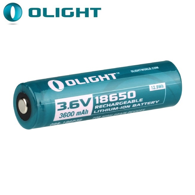 Image 2 - Olight ORB 186P36 3.6V 3600mAh 18650 Rechargeable Lithium ion batteryPortable Lighting Accessories   -